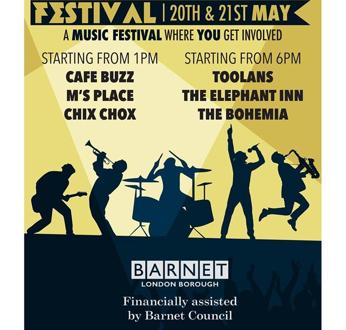 Festival:  North Finchley Festival 20th & 21st May 2017